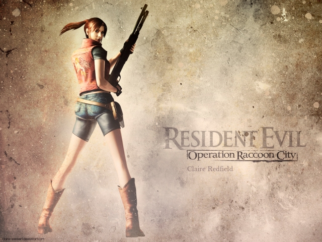 Claire redifield, resident evil