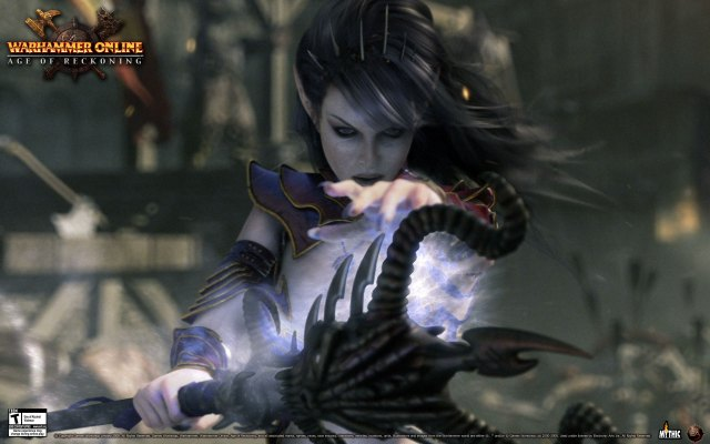 Warhammer online, war, dark elf