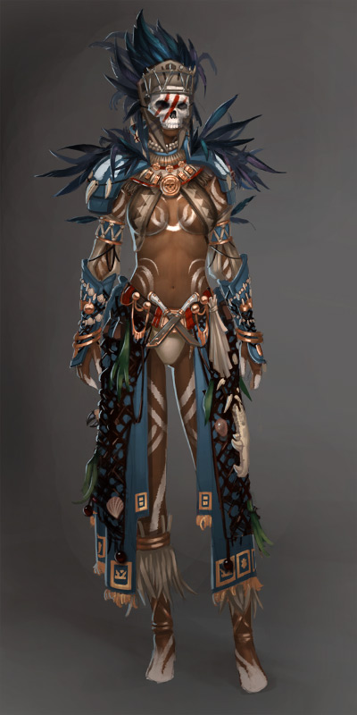 Guild Wars 2 Voodoo Female by YeeWu