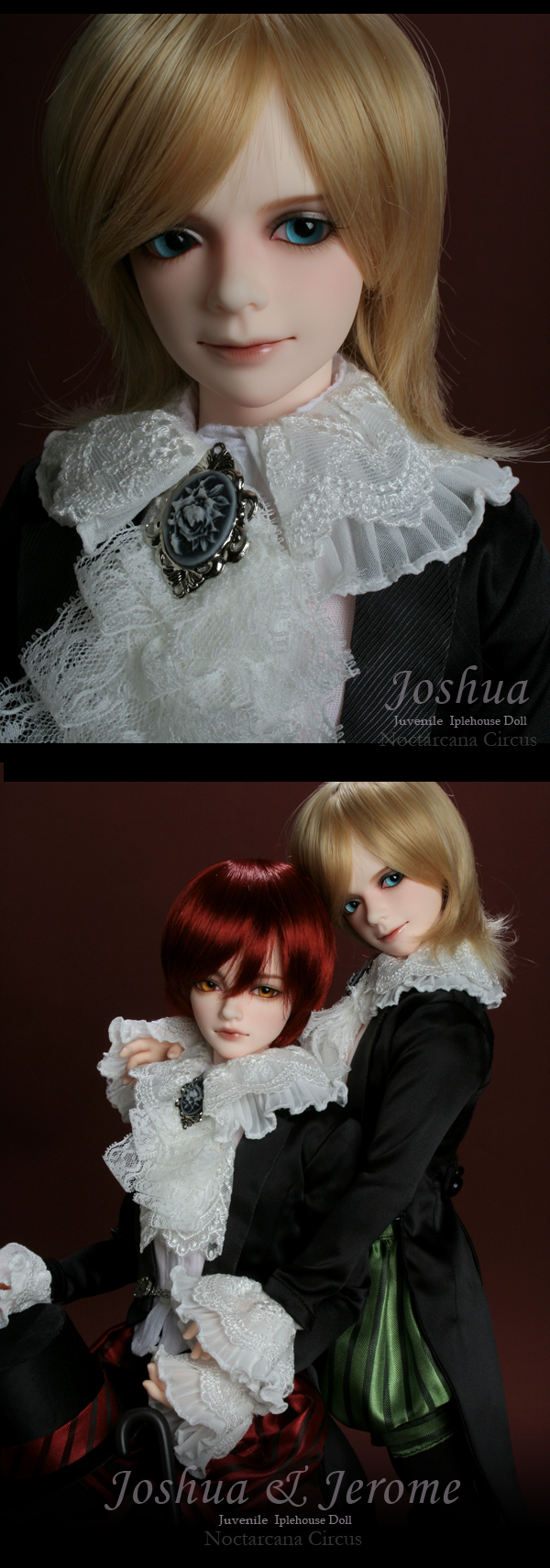 Joshua-Pierrot, ball joint doll, bjd