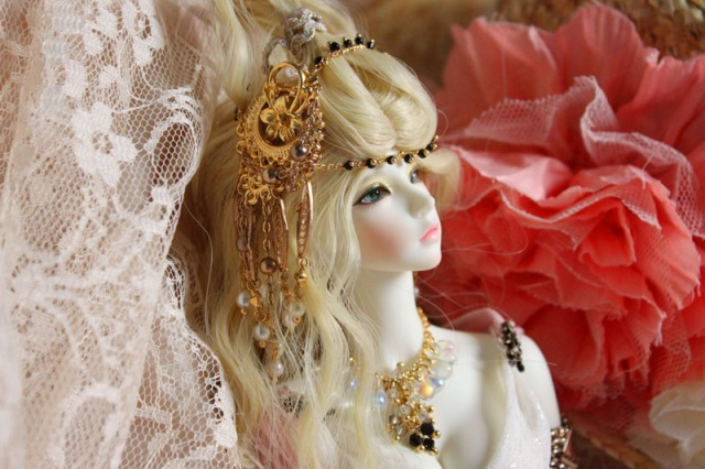 Angelica BJD, BJD, Ball jointed doll, ball joint doll, bunny doll