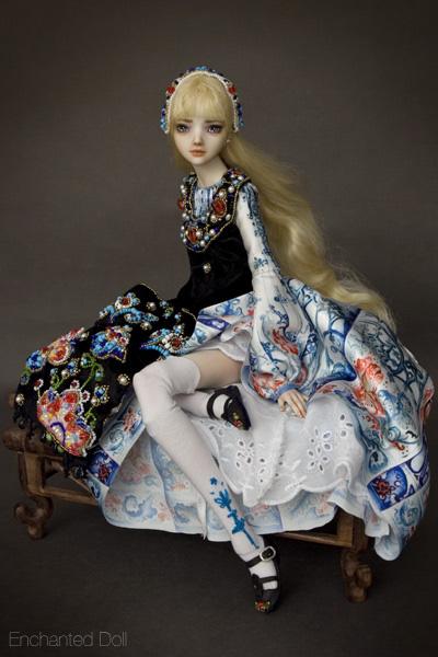 Alice lạc vào xứ thần tiên, Alice in wonderland, enchanted doll, búp bê tự chế, bup be tu che, búp bê ma thuật, bup be ma thuat, mua búp bê bjd, mua bup be bjd, ball jointed doll, búp bê bjd đẹp