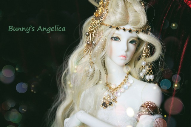 angelica, ball jointed doll, bjd, búp bê, bunny angelica, ball joint doll, ball jointeddoll, balljointdoll