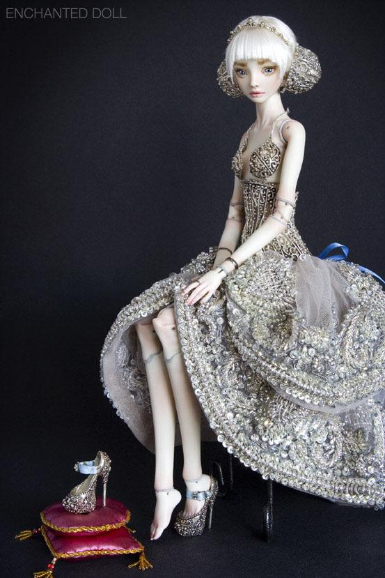 Cô bé lọ lem, Cinderella, enchanted doll, búp bê tự chế, bup be tu che, búp bê ma thuật, bup be ma thuat, mua búp bê bjd, mua bup be bjd, ball jointed doll, búp bê bjd đẹp