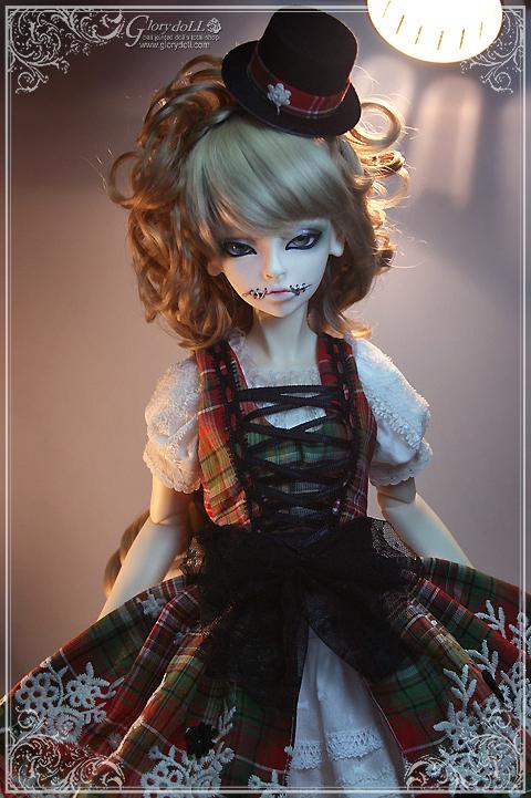 Goth Miyuki-The 3rd edition,  bjd, bup be bjd, búp bê bjd, mua bjd, cách mua bjd, cach mua bjd, ball jointed doll