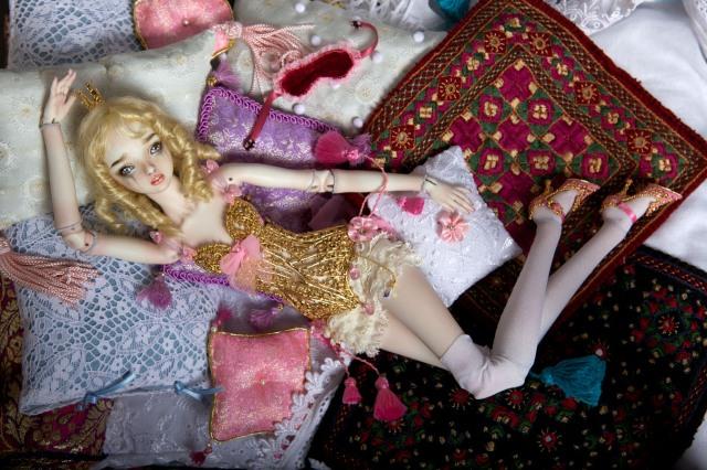 Princess and the Pea 2011, enchanted doll, búp bê tự chế, bup be tu che, búp bê ma thuật, bup be ma thuat, mua búp bê bjd, mua bup be bjd, ball jointed doll, búp bê bjd đẹp