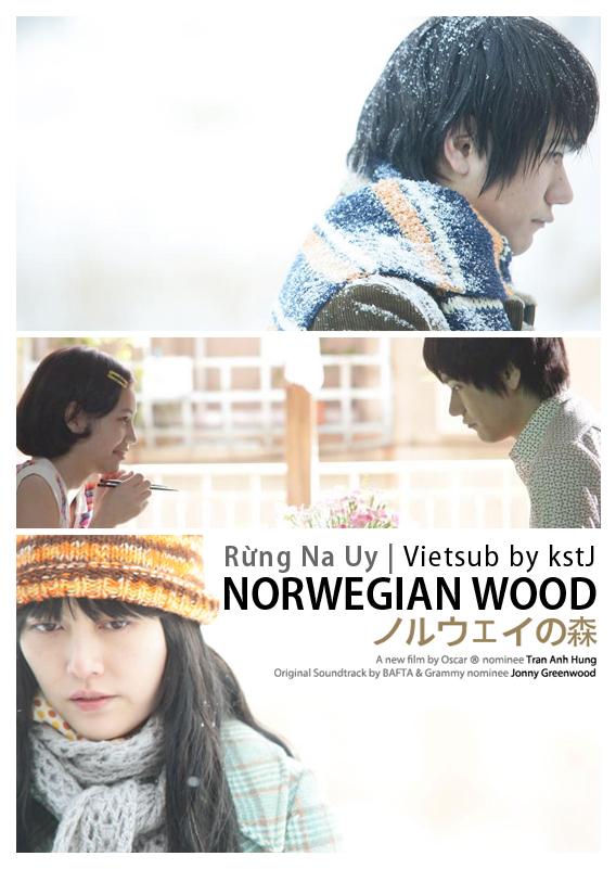 rungnauy, rừng na uy, haruka murakami, phim nhật, japan, j-drama, j-movie, toru watanake, naoko, midori