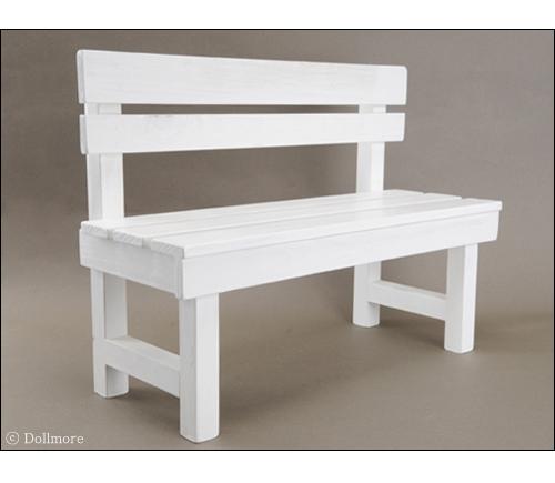 dollmore bent chair, furniture, ghế công viên, ghế trắng, ghế gỗ dài