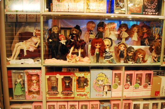 dolly shopping ở hồng kông, mua búp bê ở hồng kong, mua bup be o hong kong, bjd, ball jointed doll, blythe, pullip, ginza