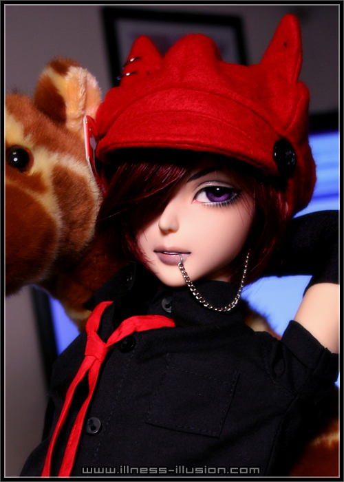tasha neko, akishia, illness-illusion, bjd, bup be bjd, búp bê bjd, ball jointed doll, kira, face-up bjd, face up bjd, face up bjd, gumbles