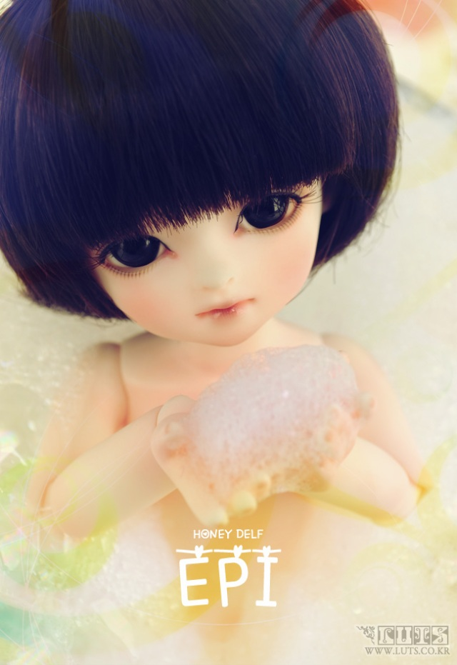 Honey Delf EPI 2011 WINTER EVENT,  luts ball jointed doll, bjd, luts event head chritmas 2011, bjd, ball jointed doll, bup be bjd, búp bê bjd, cách mua búp bê bjd ở việt nam