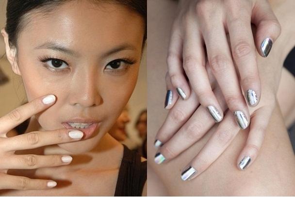 runway nail art, vẽ móng tay đẹp, mẫu móng tay đẹp, xu hướng móng tay 2012