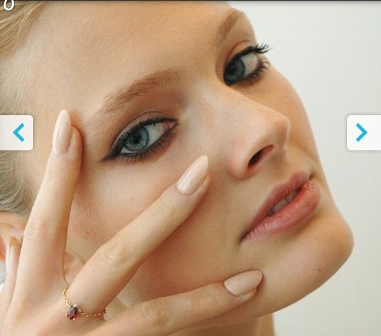 móng tay đẹp, Flesh-Toned Nails, sơn móng tay màu da, spring 2012 nail-art, xu hướng móng tay 2012