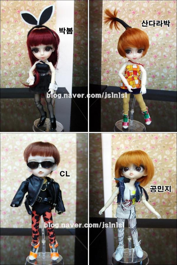 2ne1-dolls, bjd, ball jointed doll, black jacks, cộng đồng búp bê vn