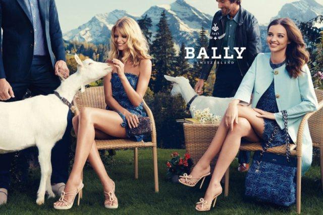 Swiss Spring – Bally, top models, Miranda Kerr, Julia Stegner, phụ kiệ, phu kiện, thời trang, thoi trang, fashion, giày tây, giay tay, túi xách, tui xach, vi, ví, thuỵ sĩ, thuy si,  Cedric Bihr, Robert Konjic