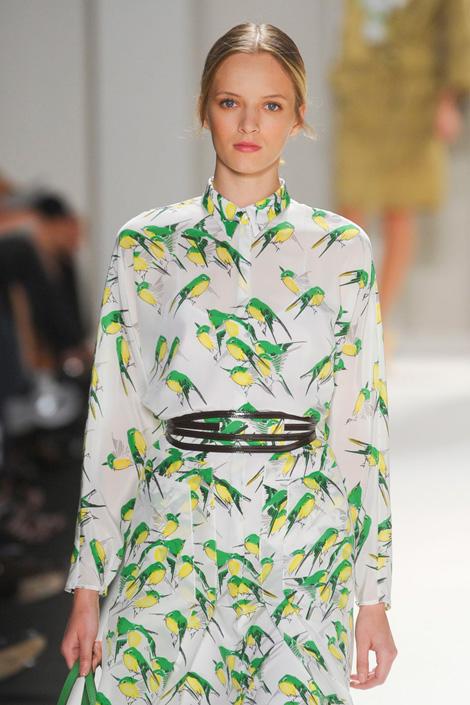 Carolina-Herrera-spring-2012, for the bird, Fashion, Thời trang, Xu hướng thời trang xuân 2012, thoi trang, xu huong thoi trang mua xuan 2012, thời trang đẹp, thoi trang dep