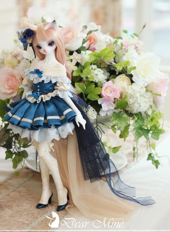 Blue Rose PRISCILLA, dear mine bjd,  bjd, ball jointed doll, búp bê khớp cầu, bup be khop cau, cách mua bjd ở vn, cach mua bjd o vn