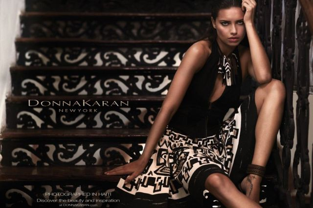 donna karan, Adriana Lima, Philippe Dodard, spring 2012 campaign, Russell James, bộ sưu tập thời trang, bo suu tap thoi trang, bst, fashion