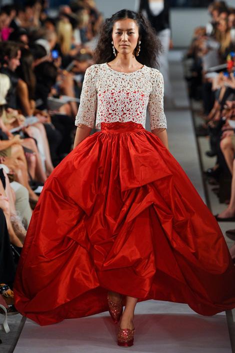 oscar de la renta, princess's diary, fashion, thời trang, thoi trang, xu hướng thời trang xuân 2012, xu huong thoi trang xuan 2012, công chúa, cong chua