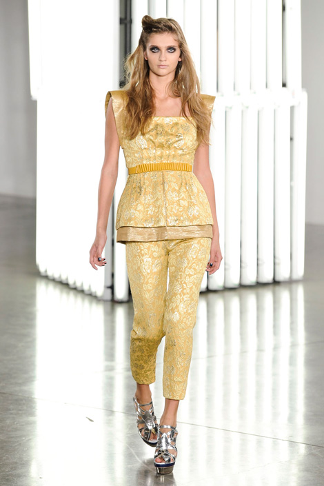 Rodarte-spring-2012, peplum power, Fashion, Thời trang, Xu hướng thời trang xuân 2012, thoi trang, xu huong thoi trang mua xuan 2012, thời trang đẹp, thoi trang dep