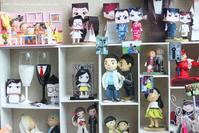 Saigon Flea Market, mô hình giấy, mo hinh giay, đám cưới, dam cuoi, wedding