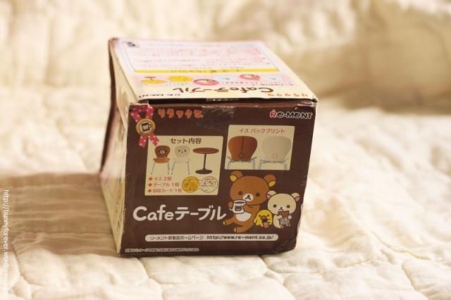 re-ment, miniature, Re-Ment Rilakkuma Cafe Table Set, vật dụng tí hon, đồ chơi tí hon, mô hình tí hon