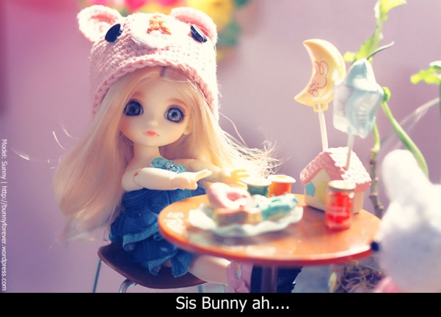re-ment, miniature, Re-Ment Rilakkuma Cafe Table Set, vật dụng tí hon, đồ chơi tí hon, mô hình tí hon, lati yellow sunny, yo-sd, 16cm bjd, 16cm ball jointed doll