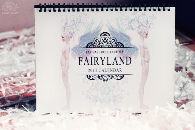 fairyland bjd, fairyland doll, calendar