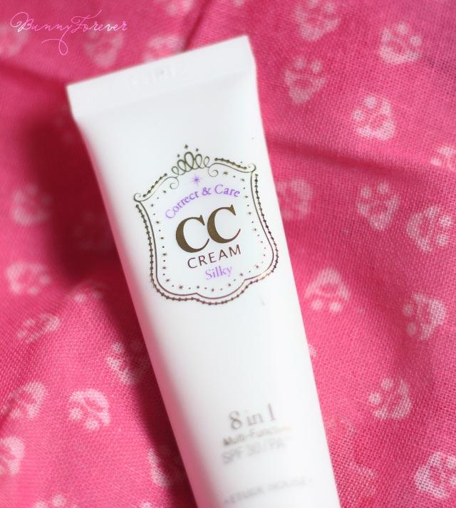 etude houde cc cream silky 01, mỹ phẩm, my pham, cosmetic, base cream, kem lót, kem lot