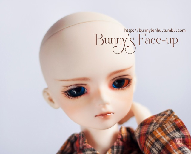 luts kid hoodoo, cidl phamtomhive, ball jointed doll, bjd doll, face-up, face up