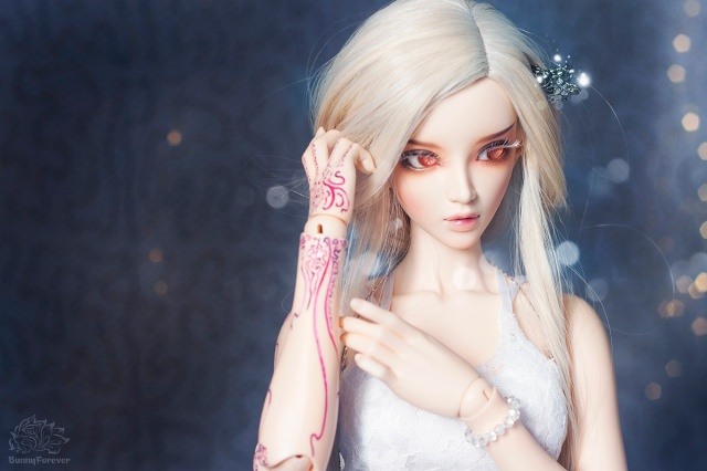 ball jointed doll, bjd doll, feeple 65 chloe