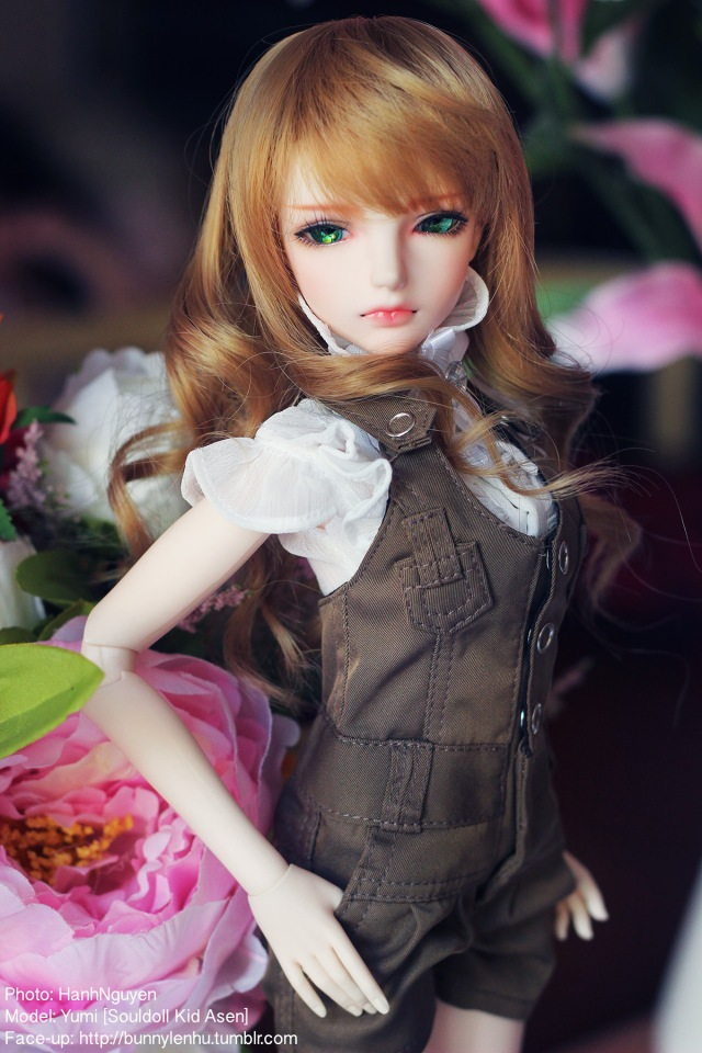 soul doll kid asen, ball jointed doll, bjd doll, bup be bjd, búp bê bjd, bup be khop cau, búp bê khớp cầu, luts event head summer 2013, face-up, bjd face up, bus face-up
