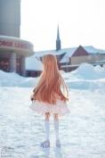 smartdoll, mirai suenaga, anime doll, doll, canada, winter
