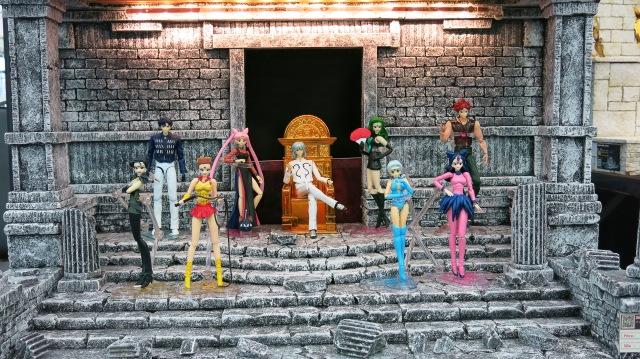 sailormoon, toy expo, action figure, toy, anime, manga, fes, festival
