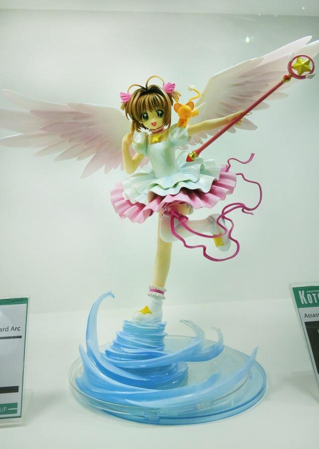action figure, card captor sakura, clamp, toy expo
