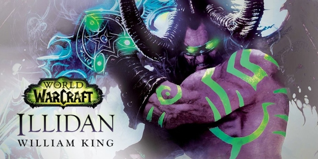 warcraft, novel, videogame based novel, world of warcraft, illidan stormrage