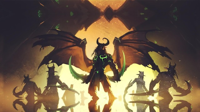 warcraft, demon hunter, world of warcraft, illidan stormrage